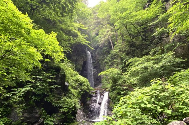 Otaki Waterfall in Itajiki Valley