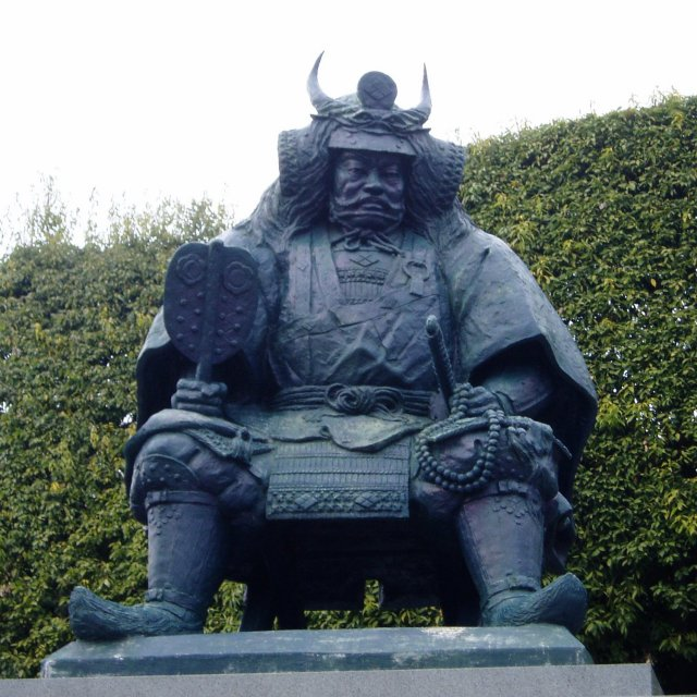 Statue of Shingen Takeda